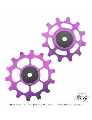 MPM Tech Pulegge Cambio 12-14 Denti Per Sram 12V