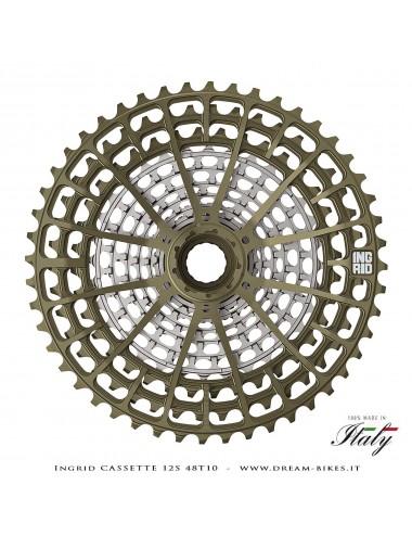 Ingrid 12S 48T10 Cassetta Pignoni 12v XD