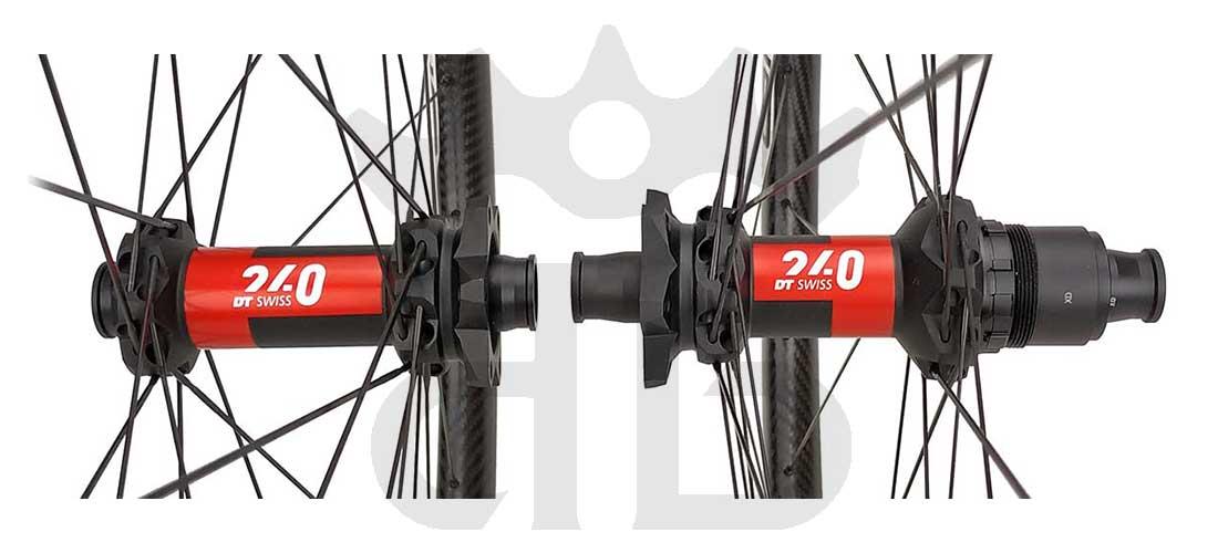 "GrigioCarbonio Ruote 29"" AS25 T800 Dt Swiss 240 - 1230 gr."