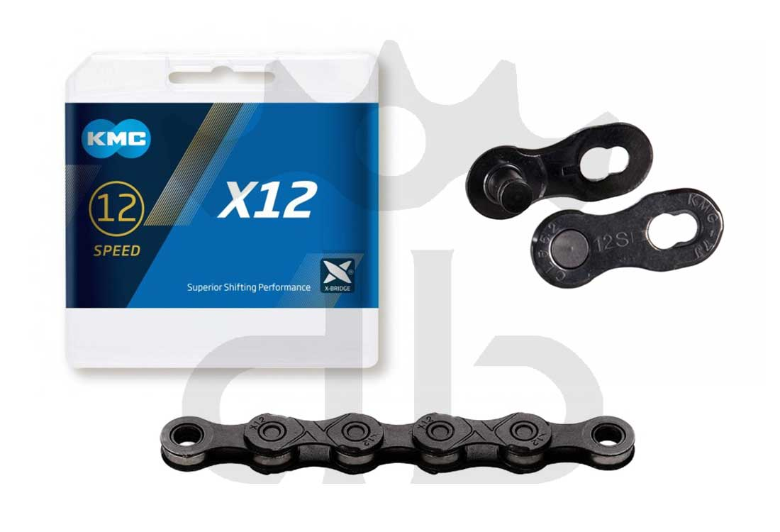 kmc x-12 black tech catena 12v 268 gr.