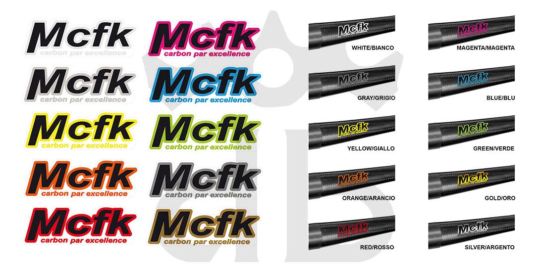 MCFK MTB Carbon Flatbar 6°