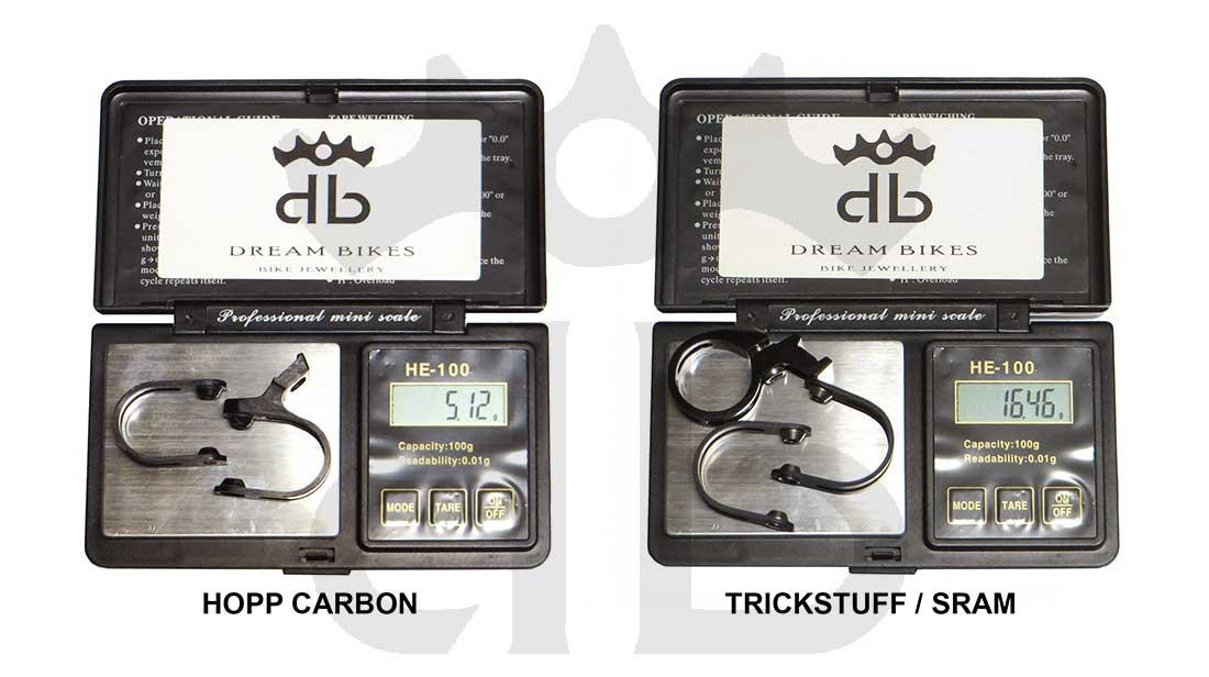 Hopp Carbon Trickstuff Piccola Carbon SL Clamps Matchmaker